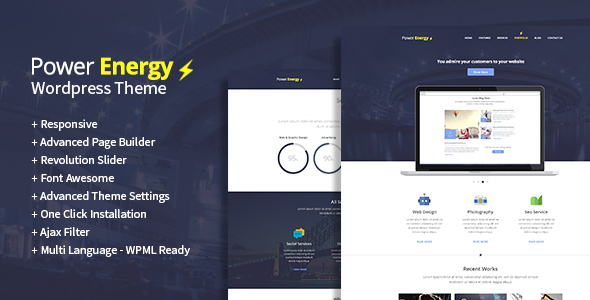 Power Energy - Responsive Multipurpose HTML 5